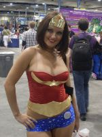 WonderWoman Comic COn 08 by mjac1971