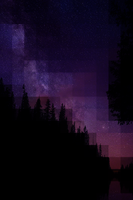 Twilight Pixel iPhone Wallpaper by Mythical-Pixel