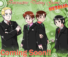 :Coming soon!:Hetalia Interation Dating Game by xXKikaru-ChanXx
