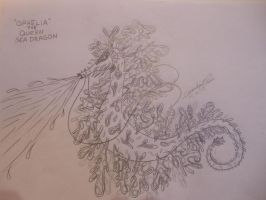Ophelia the queen sea dragon by Momtat31