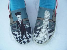 Chiodos Shoes by albino-grapejuice