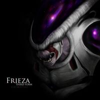 Frieza Thrid Form by Geokeeno