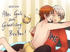 Happy B-Day Prussia! by Arisu95