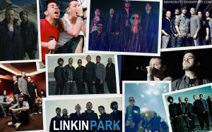 Linkin Park Collage by MaYKoN777