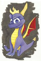 Spyro the Dragon 2 by Kellalizard
