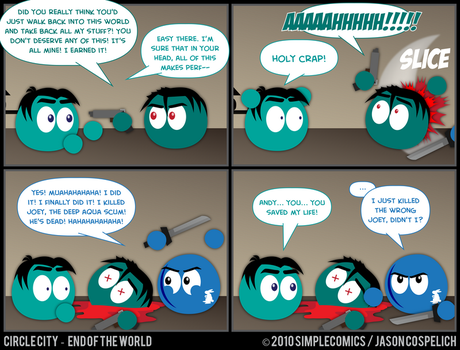CC422 - End of the World 22 by simpleCOMICS