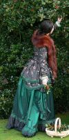 late bustle gown by Abigial709b