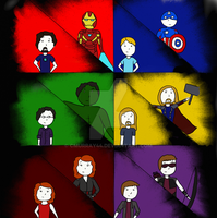 Both Sides of the Avengers by Cmurray44