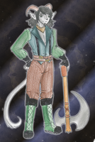 Capricorn Lumberjack by CandySkitty