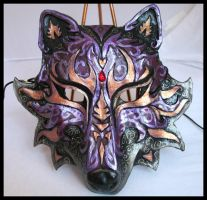 Mother's Day Wolf Mask by Namingway