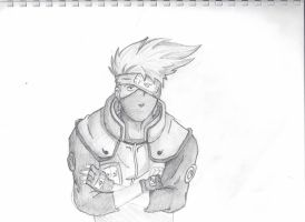 Kakashi by jeffnunn