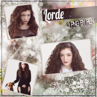 Lorde PNG Pack by RenSkyline