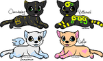 Wolf puppy adoptables -OPEN- by LadyRillian