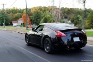 Nissan 370z Chase by ThirdGearPhotography