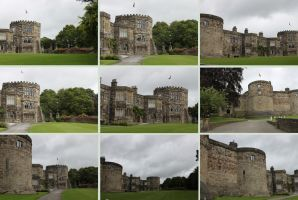 Skipton Castle 2 by Tasastock