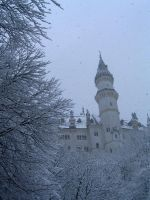 Castle in the snow stock by RxC-Stock
