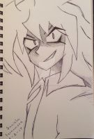 Yami Bakura by PurpleDraws1987