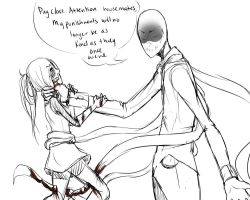 Slender Punishes Laz by Chibi-Works