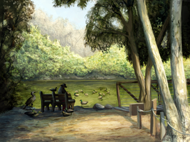 Lake Bench by Ito-Saith-Webb