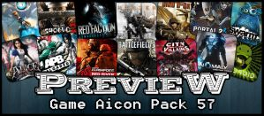 Game Aicon Pack 57 by HarryBana