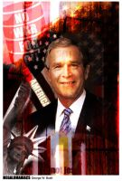 Megalomaniac 2: George W. Bush by Phoenixjca