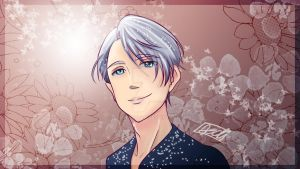 Victor Nikiforov Fannart from Yuri!!! On Ice by adhwarosln