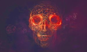 Abstract skull by DubstepPS