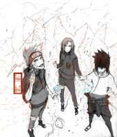 Naruto - Team 7 by IFrAgMenTIx