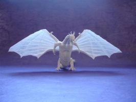 Origami Zoanoid Dragon front by origami-artist-galen