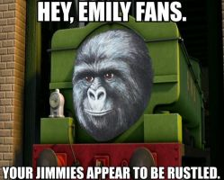 Duck and the Rustled Jimmies (Meme) by Sergeant-Sunflower