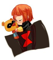 baby natasha plus bucky bear by Nani-Mi