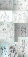 Old Philippines OC sketches by AskFelipinas