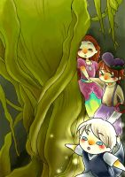 Digging into the deep forest by Iris-Zeible
