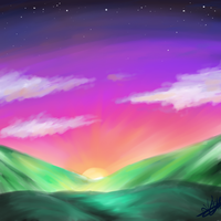 Hills by Luciph