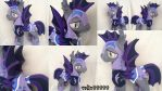 Princess Luna's Guard Plush handmade MLP by valio99999