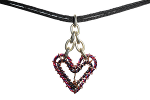 Heart Necklace by Chryssta