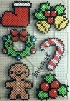 Christmas Items by PerlerPixie