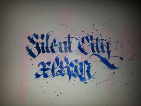 Silent City XPRSN Calligraphy by Milenist