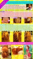 High Ponytail Wig Tutorial (using Arrietty wig) by breathelifeindeeply