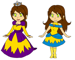 Electra:New hairstyle, outfits and profile by starflash111