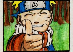 naruto thumbs up by im-albino