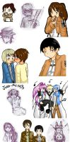 Mainly SnK Doodle Dump by Just-Me143