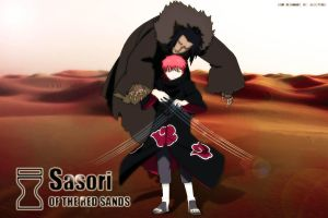 Sasori of the red sands by soulevans93