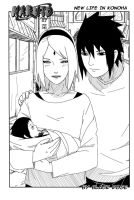 SasuSaku New Life in Konoha by byBlackRose
