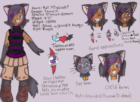Rei's Ref. Sheet by DRei-chan