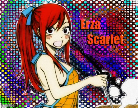 FT: Erza by LadyNoa