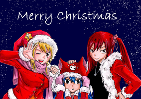 Fairy Tail Christmas by ina2107