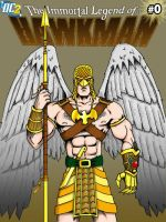 Hawkman 0 - DC2 by herrenmedia