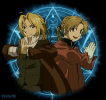 The Elric Brothers by Frotu