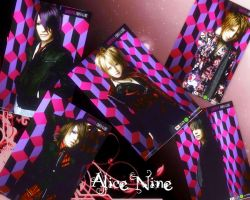 Alice Nine Wallpaper by Visual-KeiRainbows